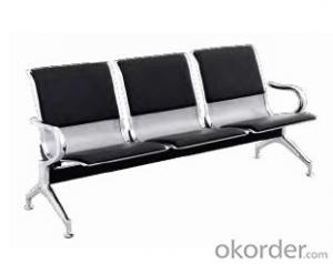 Hot Sale Stainless Steel Waiting Chair B01