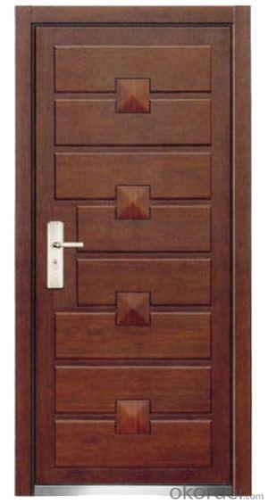 Steel Wooden Armored Doors 2050*960*80mm