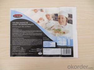 Color Printed Frozen Seafood Packaging Bag