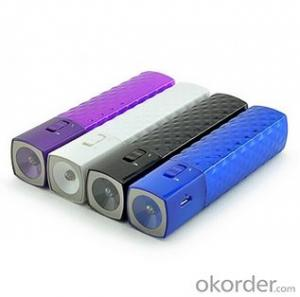 Customized Color LED Torch Power Bank for Mobile