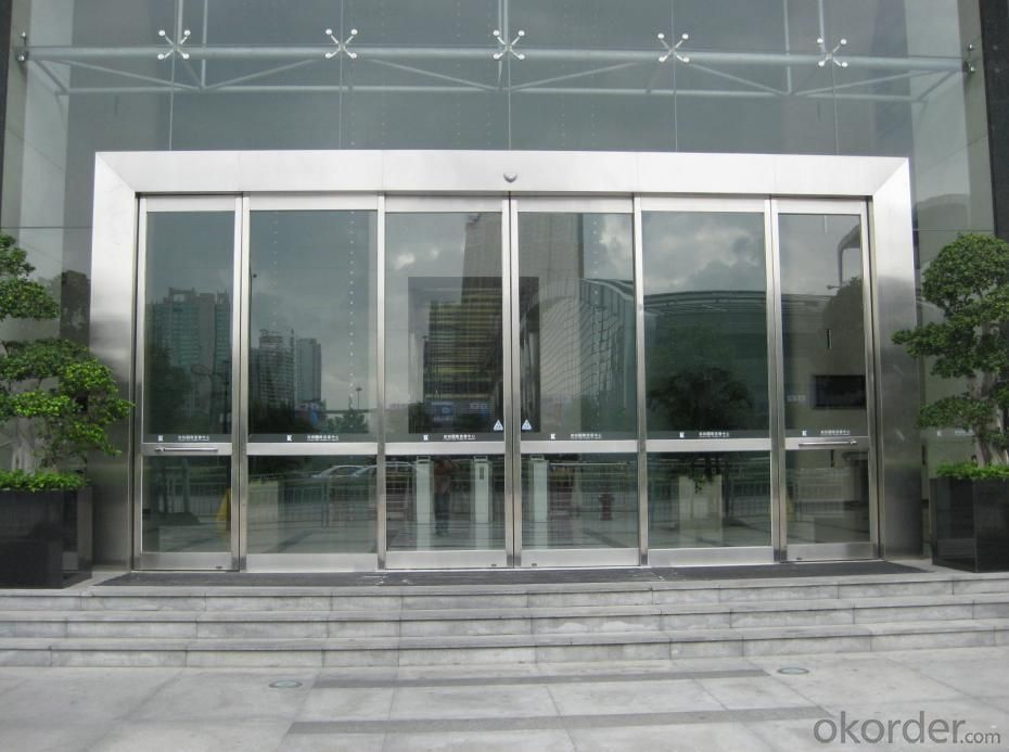 Steel Smart Automatic Sliding Door for Office