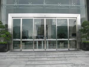 Steel Smart Automatic Sliding Door for Office & Partition