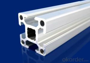 Customized 6063 t5 aluminum profile