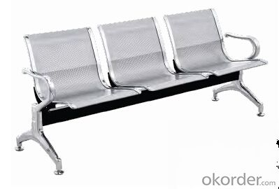 Hot Sale Stainless Steel Waiting Chair H01