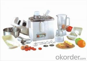 Multi-functional food processor 10-in-1