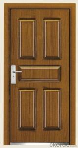 Steel Wooden Armored Doors 2050*860*80mm