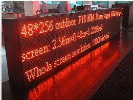 P10 Outdoor Red Color LED Display CMAX-P10