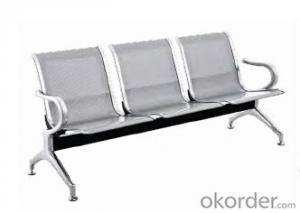 Hot Sale Stainless Steel Waiting Chair F02