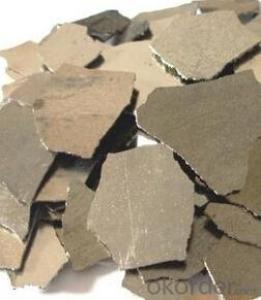 Electrolytic Manganese Mental Flakes Sliver Gray
