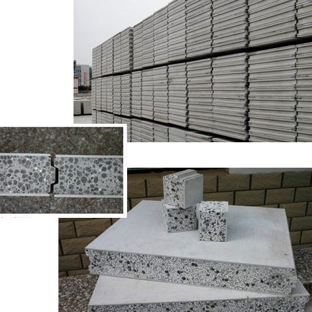 Concrete Panels Light Concrete Panels for Prefab House Cement House