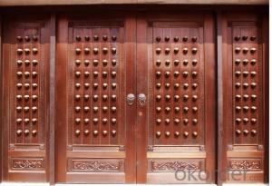 China Wooden Interior Door, Modern Wood Door Designs