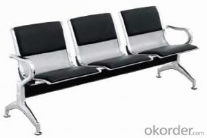 Hot Sale Stainless Steel Waiting Chair H03F