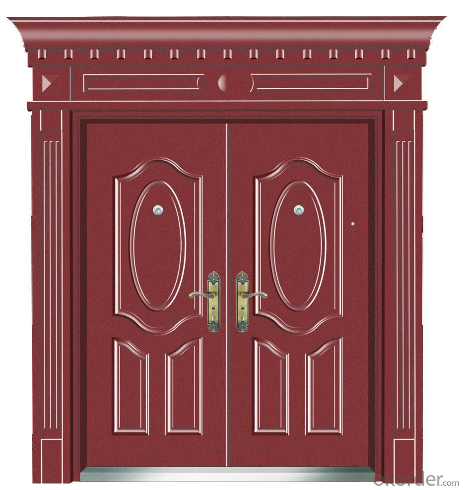 Modern wooden PVC doors interior entrance door