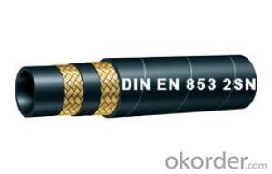Wire Braided hydraulic hose EN853 1ST