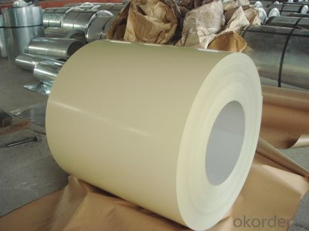 Colour Coated Galvanized Steel Sheet in Coils