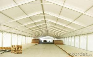 Warehouse tent for goods