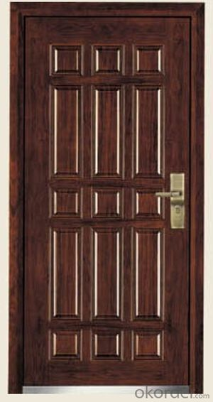 Armored Doors from Steel and MDF