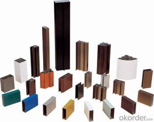 Alu profile extrusion for sliding window