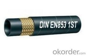 Wire Braided Hydraulic Hose EN853 2SN
