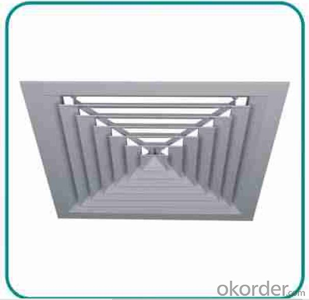 air diffusers in steel or aluminium