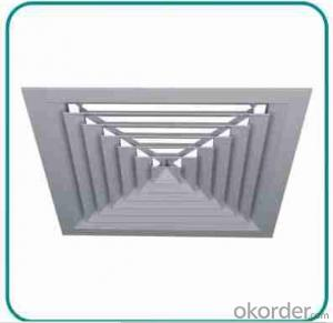 steel square air diffusers