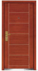 Steel Wooden Armored Doors for  Flats