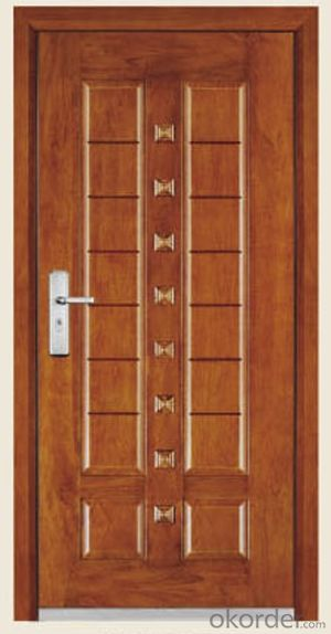 Steel Wooden Armored Doors