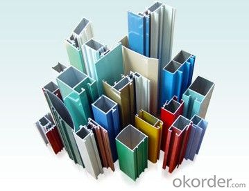 Anoized Colorful Aluminum Profile for Window and Door