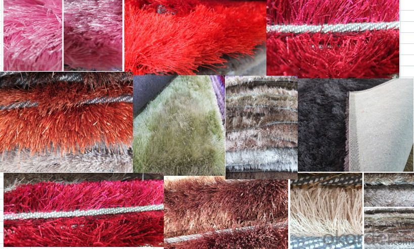 Best quality polyester saggy carpet stock