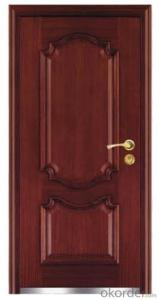 Steel Wooden Armored Doors 2050*960*80mm