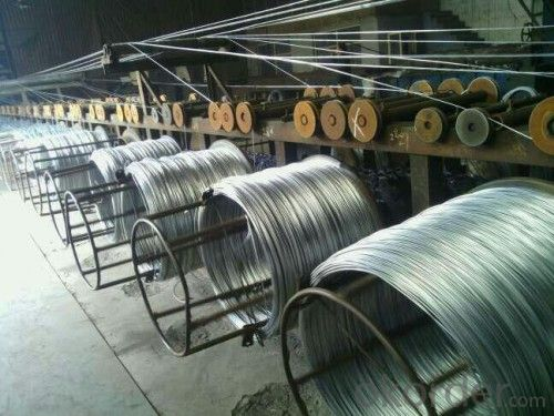 Class B Zinc Layer Of Hot Dipped Galvanized Wire