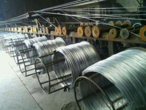 Class B Zinc Layer Of Electro Galvanized Wire