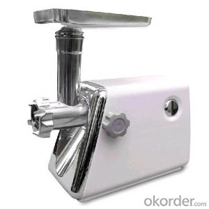 Meat grinder for coarse