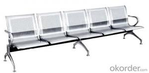 Hot Sale Stainless Steel Waiting Chair BS04