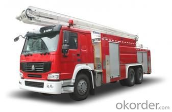 three fire truck