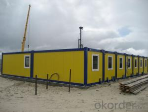 Labor Camp houses of Sandwich Panel Kits Prefabricated Houses