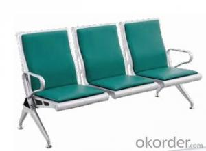 Hot Sale Stainless Steel Waiting Chair D03