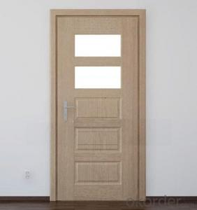 Hot sell latest design wooden doors designs white color wooden interior doors