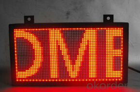 Scrolling Text LED Moving Signs CMAX-P4.75