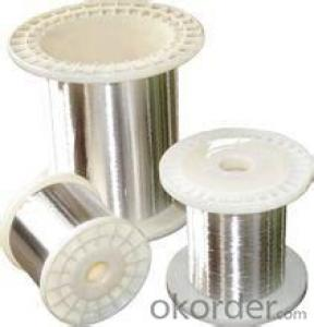 Tinned silver copper wire