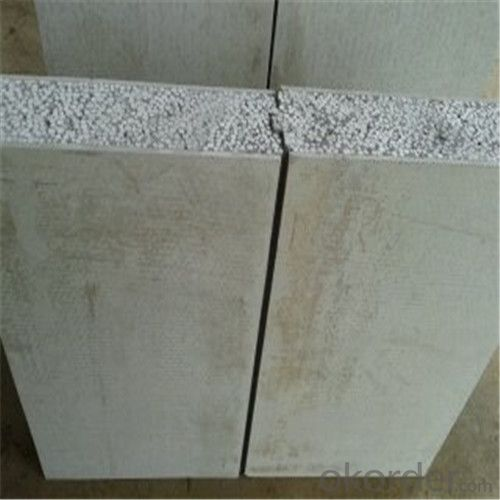 sandwich panel compressed fibre cement composite board