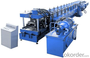 DRAWER GUARDRAIL ROLL FORMING MACHINE