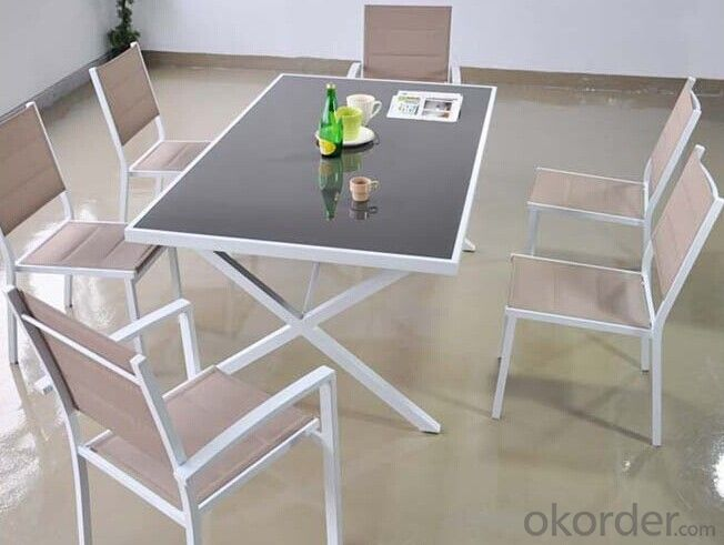 Outdoor Dinner Table and Chair