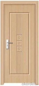 Exterior PVC MDF Door