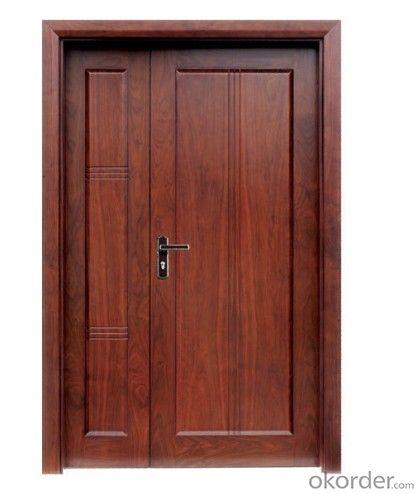Panel Residential Steel Door Security Steel Door