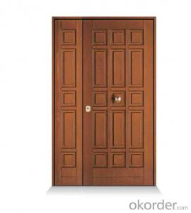 classical design popular in Europe mother and son steel door for wholesale