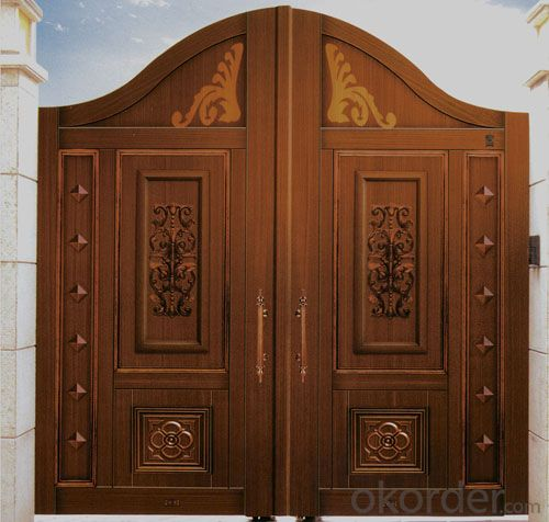 Latest design wooden doors/room door design