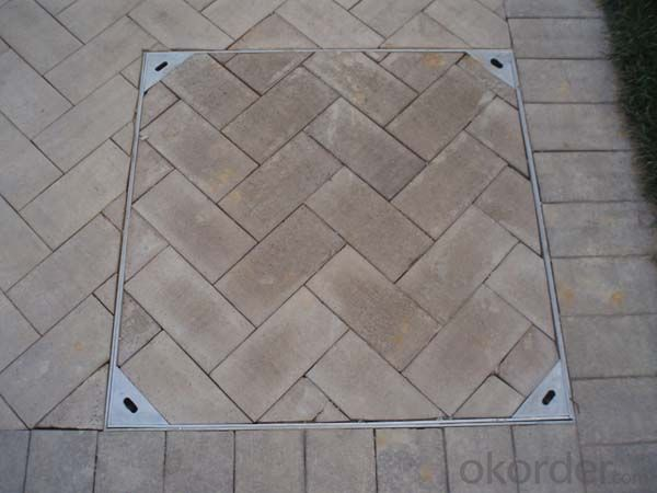 Manhole Cover Ductile Iron B25 Made in China