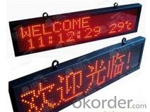 P16 Single Color LED Display Waterproof CMAX-P16