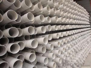 PVC Pressure Pipe Plastic Building Materials on Sale